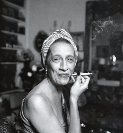 Diana Vreeland. Photo: Richard Avedon.
