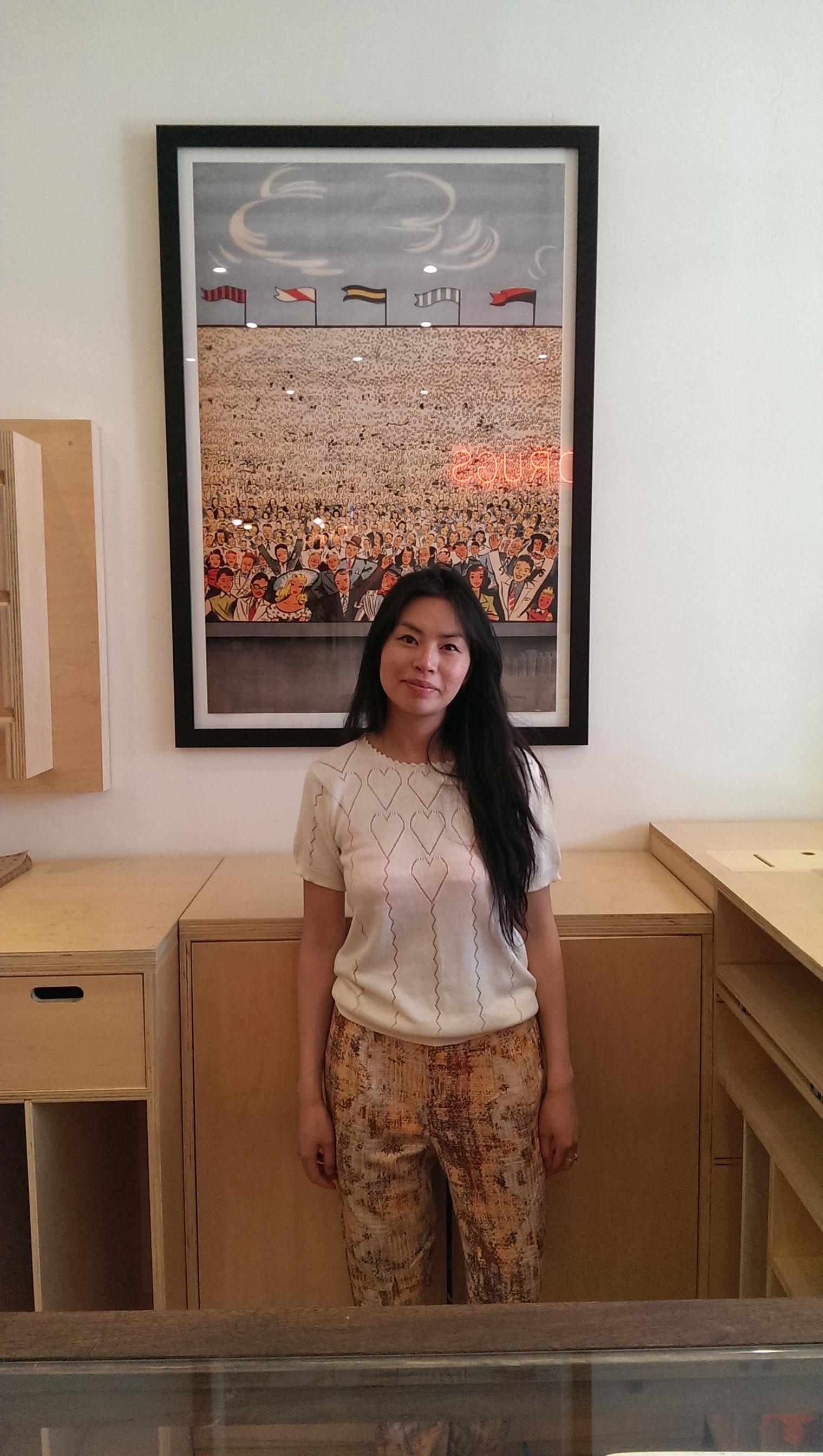 Joyce Lo,buyer.Drake General Store.