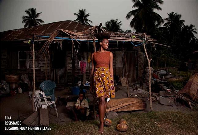 An ethical fashion label.  Kinabuti , 2012. Via  Guyanese Online .