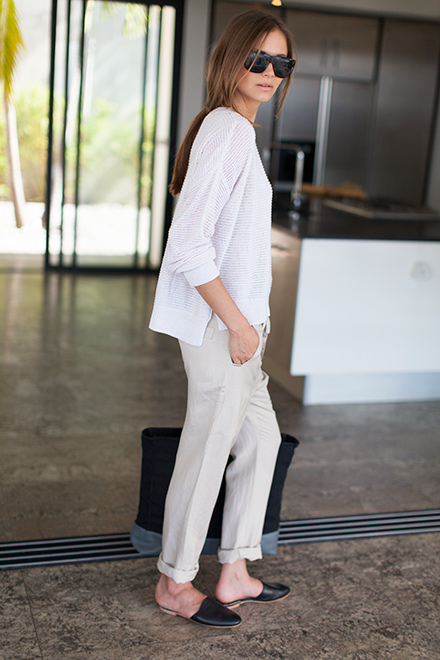 Slouch Pant by Emerson Fry.