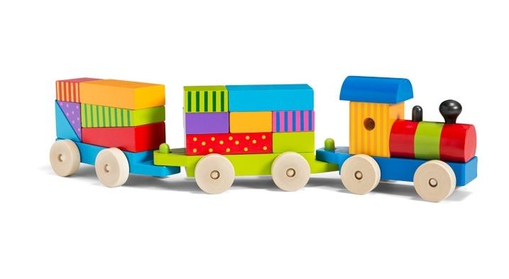 Wooden Train $20 at HomeSense