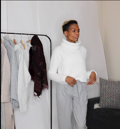 Trying out 'The Crop' turtleneck from Club Monaco