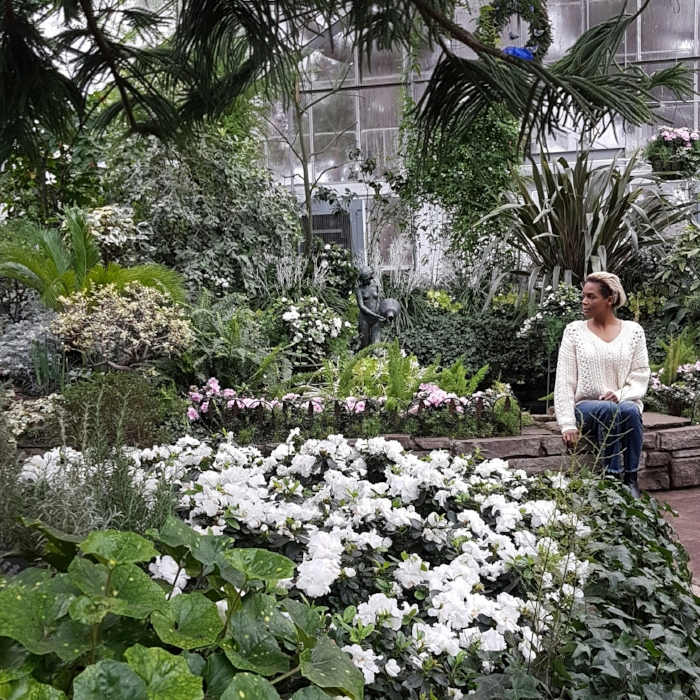 Taking it all in at Allan Gardens Conservatory