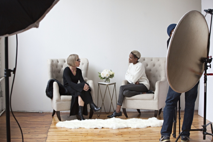 During my Interview With Lisa Corbo.