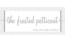 See it published on The Frosted Petticoat Blog