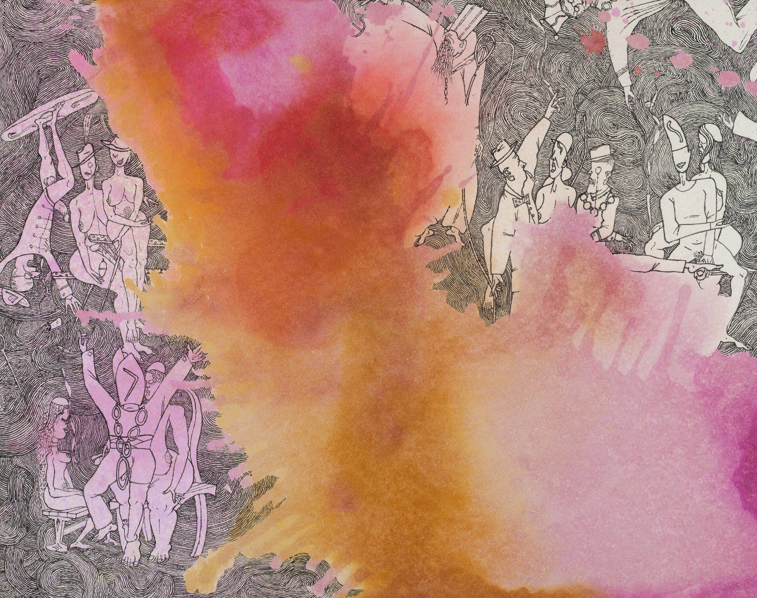 - Mystery of Entanglements II (detail)byEllen Johansen & M G Walker(Acrylic, brush & ink on Hahnemuhle paper)TIVOLI'swinter - spring ENCOUNTER GROUPEXHIBITION Works in stock and by Waiheke artistsopens Sat July 15, 5pmall welcomeChristina Conrad     James Ross     Enid Marx     Ellen Johansen & MG Walker     Sarah McKenney     Sue McKenzie     Oliver Stretton-Pow Juliet Peters     Paula Rego     Kiki Smith     Francis Upritchard    Rune van der Voo      et al