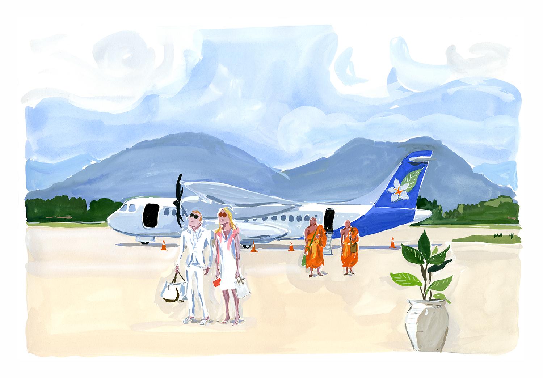 Luang Prabang, Laos  for Departures Magazine