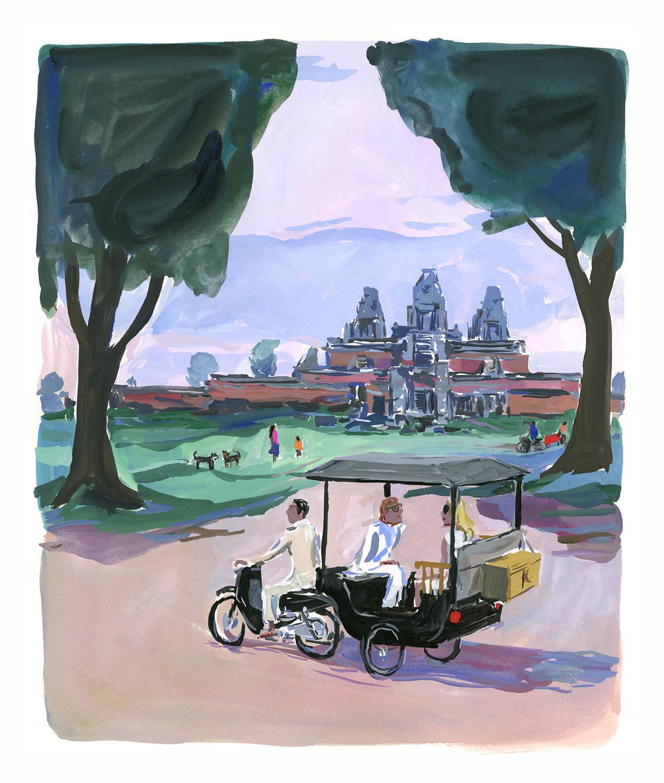 Angkor, Cambodia  for Departures Magazine