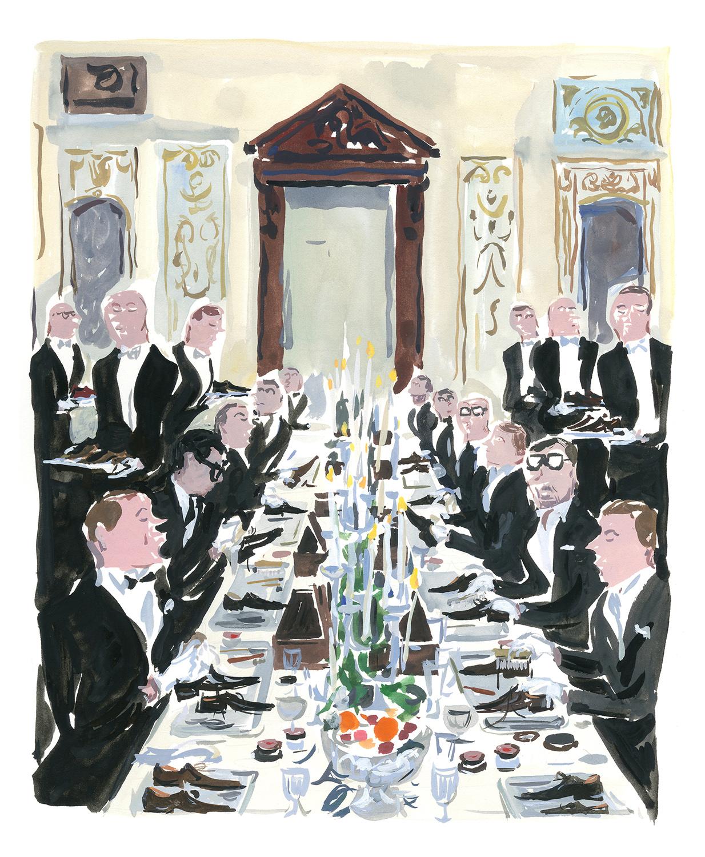 Swann Club Berluti dinner A Paris Journal