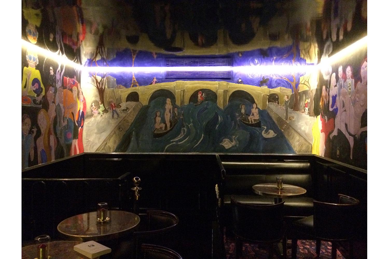 Mural for Chez Castel Paris