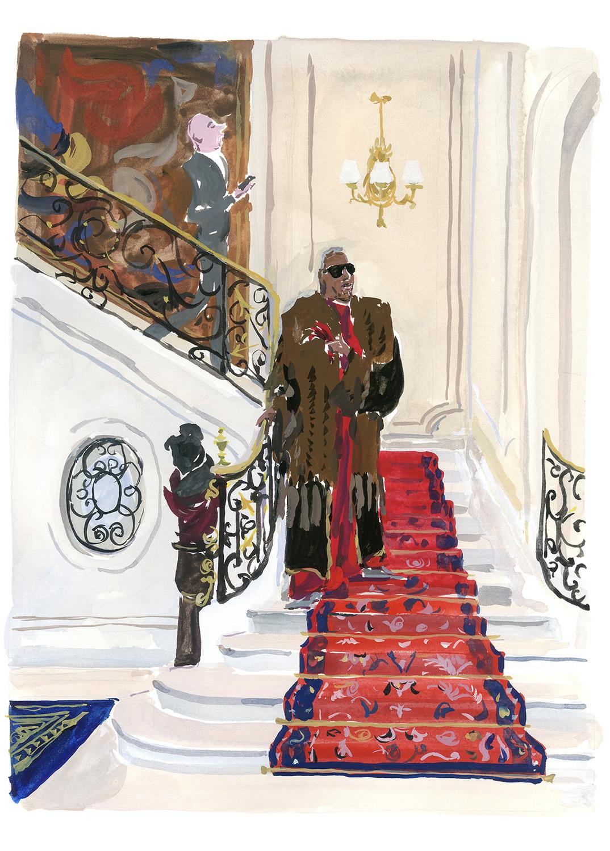 """Le Ritz, Paris For """"M"""" Le Monde"""