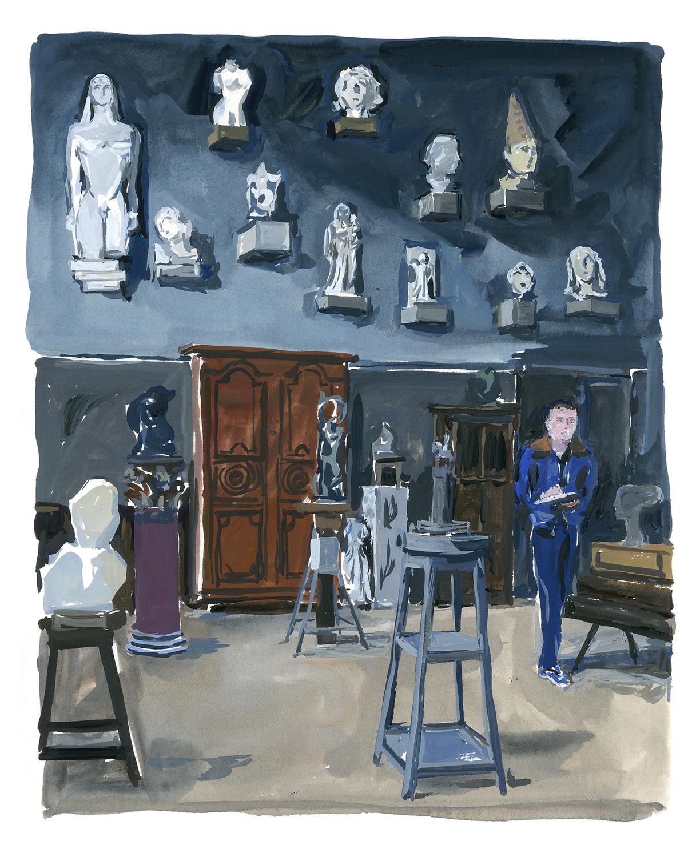 Musée Bourdelle A Paris Journal, August Editions