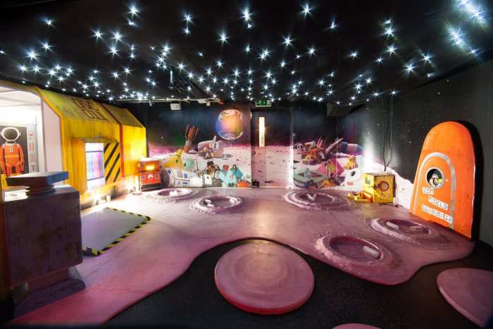 One of the many fabulous spaces for you and the kids to explore at the Discover Centre