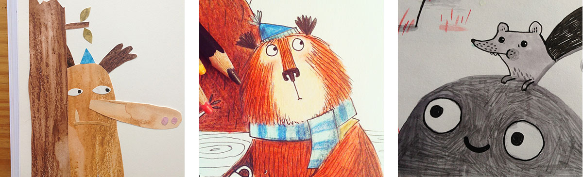 Bear With Me Book - A feast of illustration