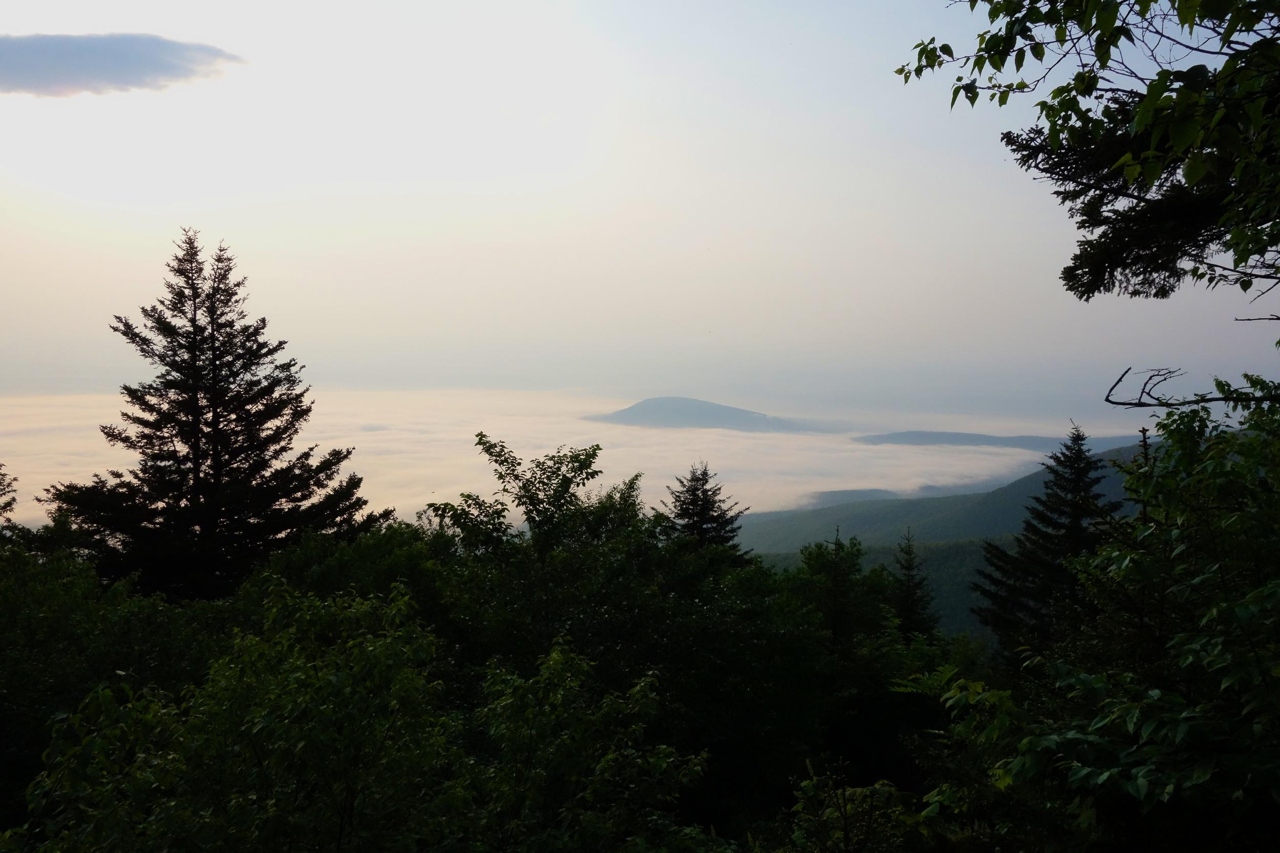 Close to the top of Blackhead Mountain