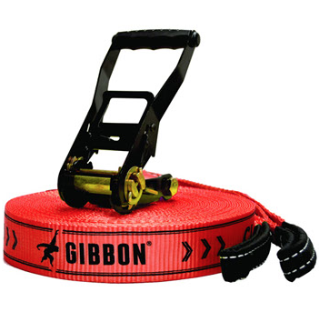 Gibbons slacklines offers a fun way to enhance balance, core strength and function. You can set this up just about anywhere. Like anything, it will take practice & patience to be comfortable playing around on one of these.