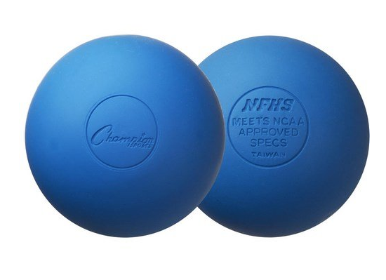 Lacrosse Ball - Lacrosse balls are great for getting deeper into areas and for massaging the arches of your feet.