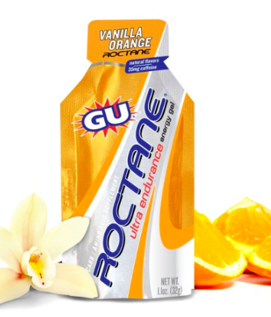 GU Energy Roctane Energy Gels  - They added more of everything that makes GU Energy Gel the category leader and added a few more things for ultra distance and high intensity efforts resulting in the most efficient, high performance gel you can use in training and racing.