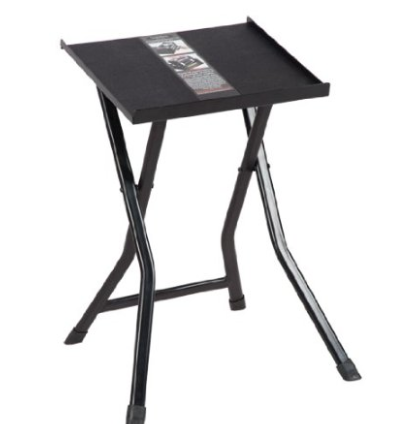 Power Block Compact Stand  - A great little stand that can hold the power blocks that we recommend. You will need this unless you have something you can place the dumbbells on so you don't have to pick them up from the floor to use them. Its safer to be able to grab & return dumbbells from hip height.
