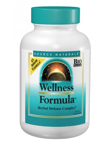 Source Naturals Wellness Formula & Herbal Defense Complex  - Combining the powers of Echinacea and a host of other powerful antioxidants & herbs, this is great for the times when you feel your immune system is compromised or can become compromised.