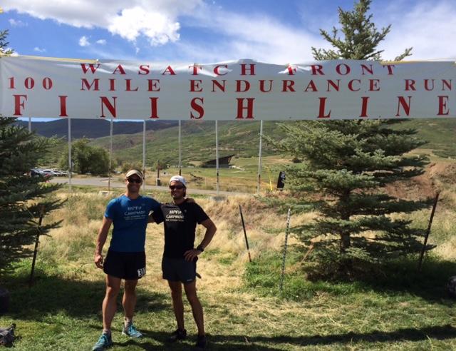Photo by Adam Grobben - Adam & Julian at the finish!