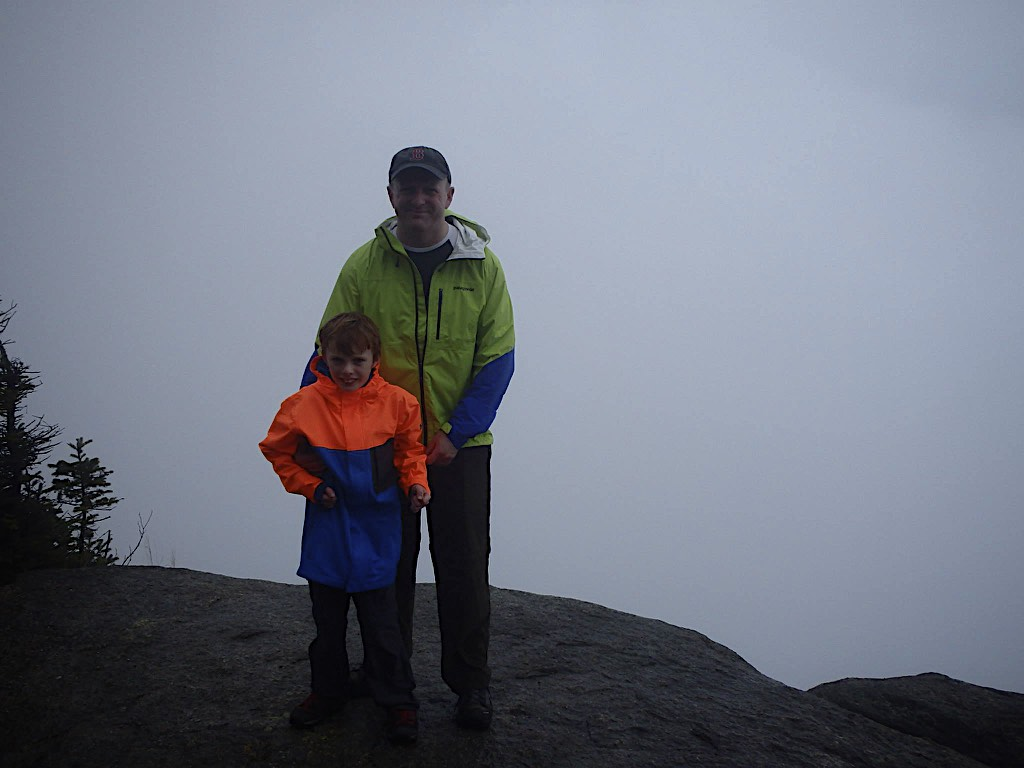 Liam & Rory at the top of Mount Osceola