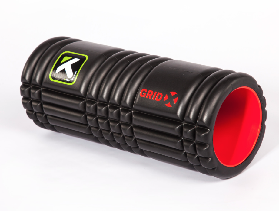 The Grid Foam Roller x - This is twice as firm as the original Grid Foam Roller above. This becomes an essential piece to own as you progress with self massage. Be sure to purchase the X Extra Firm 13 inch model.