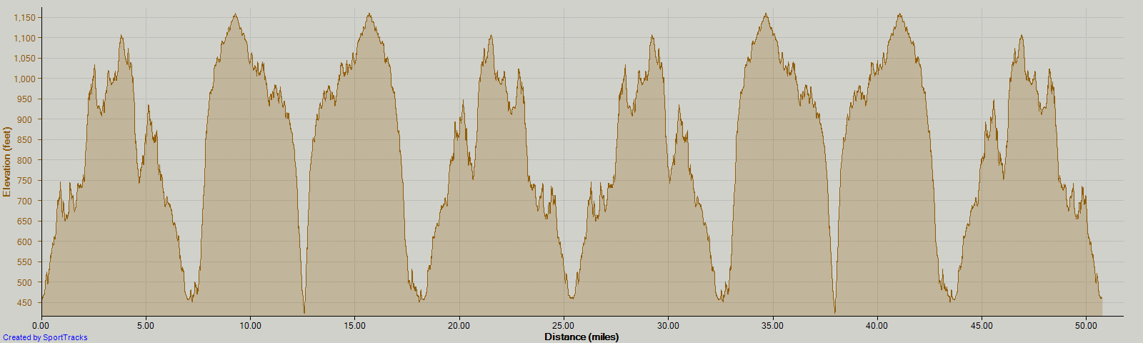 The requisite elevation chart. Yeah, it's as bad as it looks.