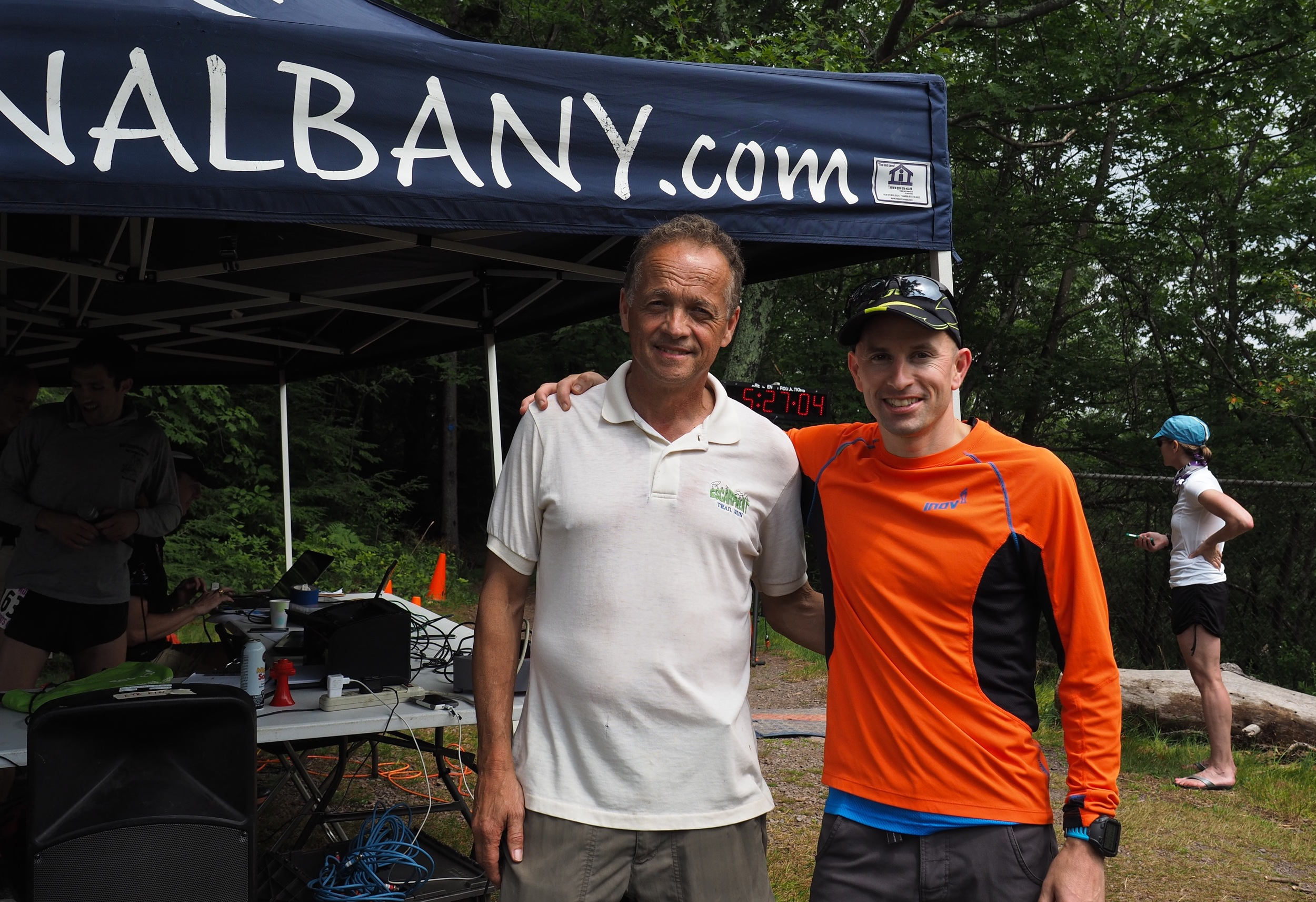 With the RD Dick Vincent at the finish! Photo by MPF's Joe Azze
