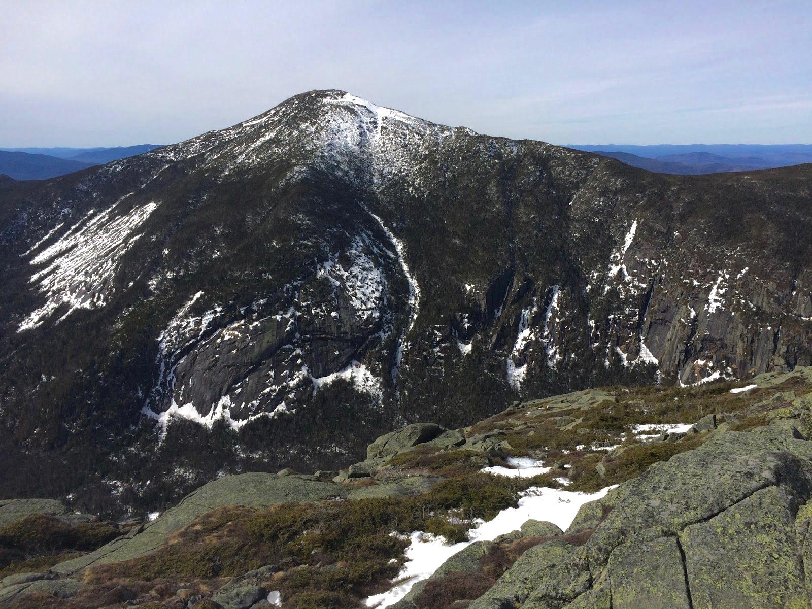 Looking across to Marcy, our final peak, from Haystack, our penultimate peak