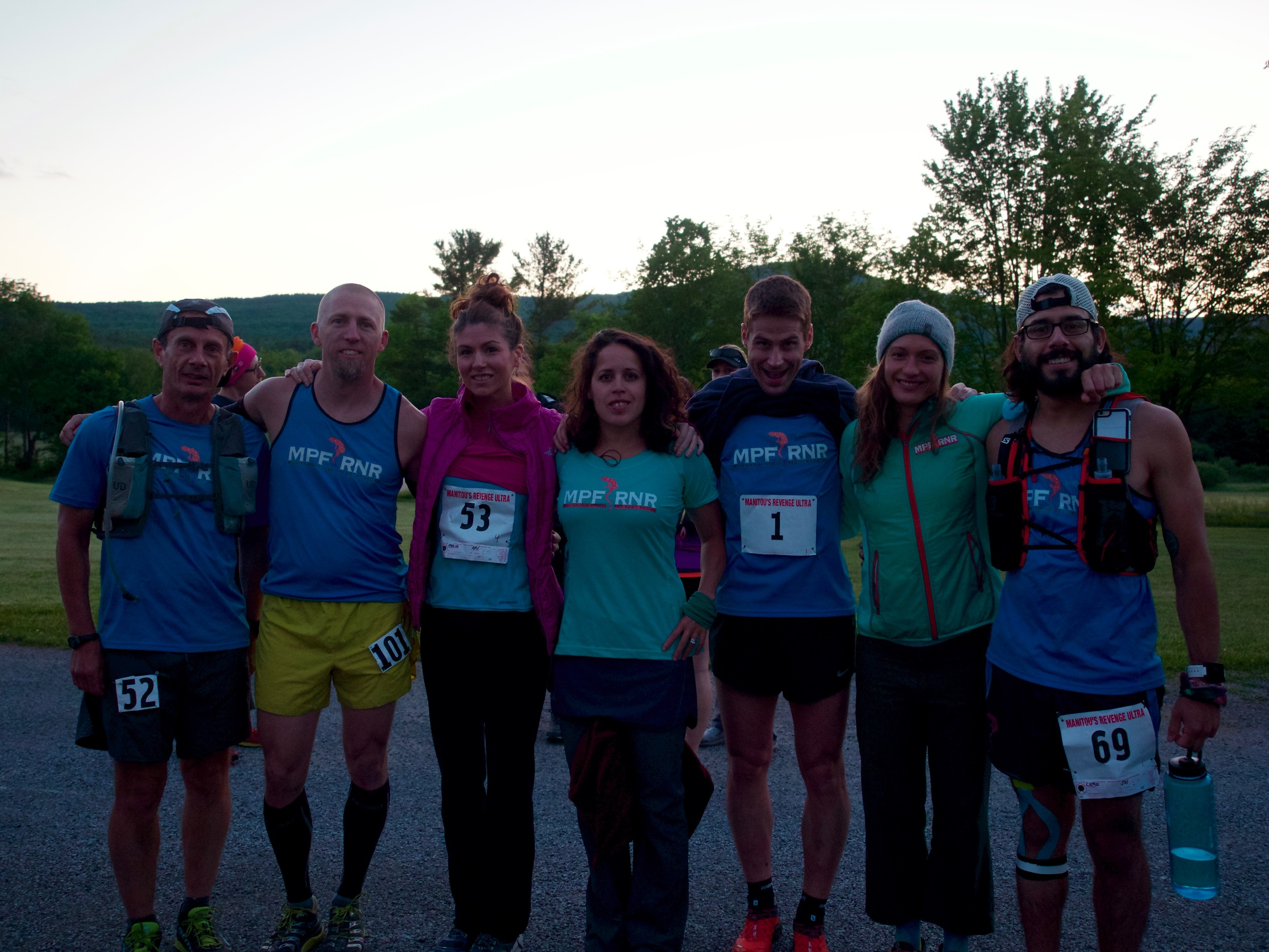 MPF RNR Teammates that joined me for the adventure!