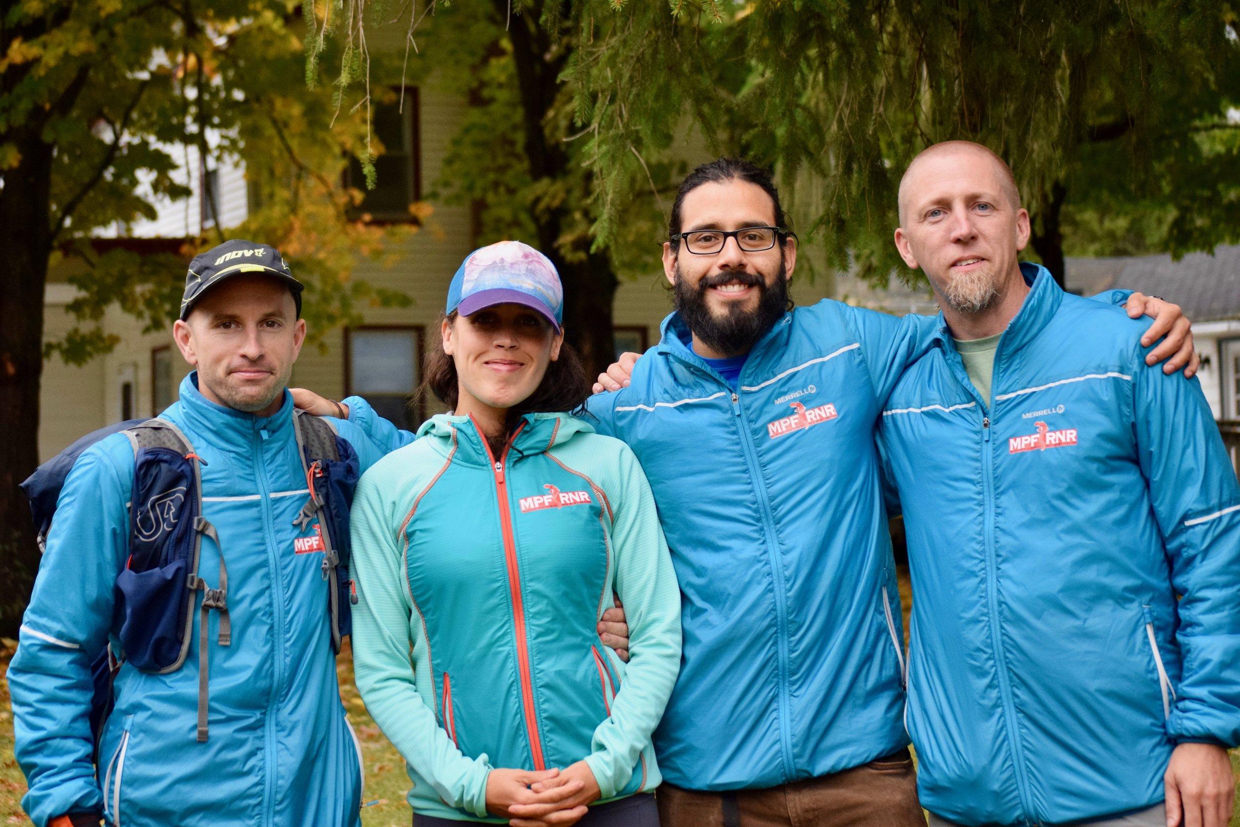 Photo: Tara Siudy - With MPF RNR Teammates Elizabeth, Jay & Mike!