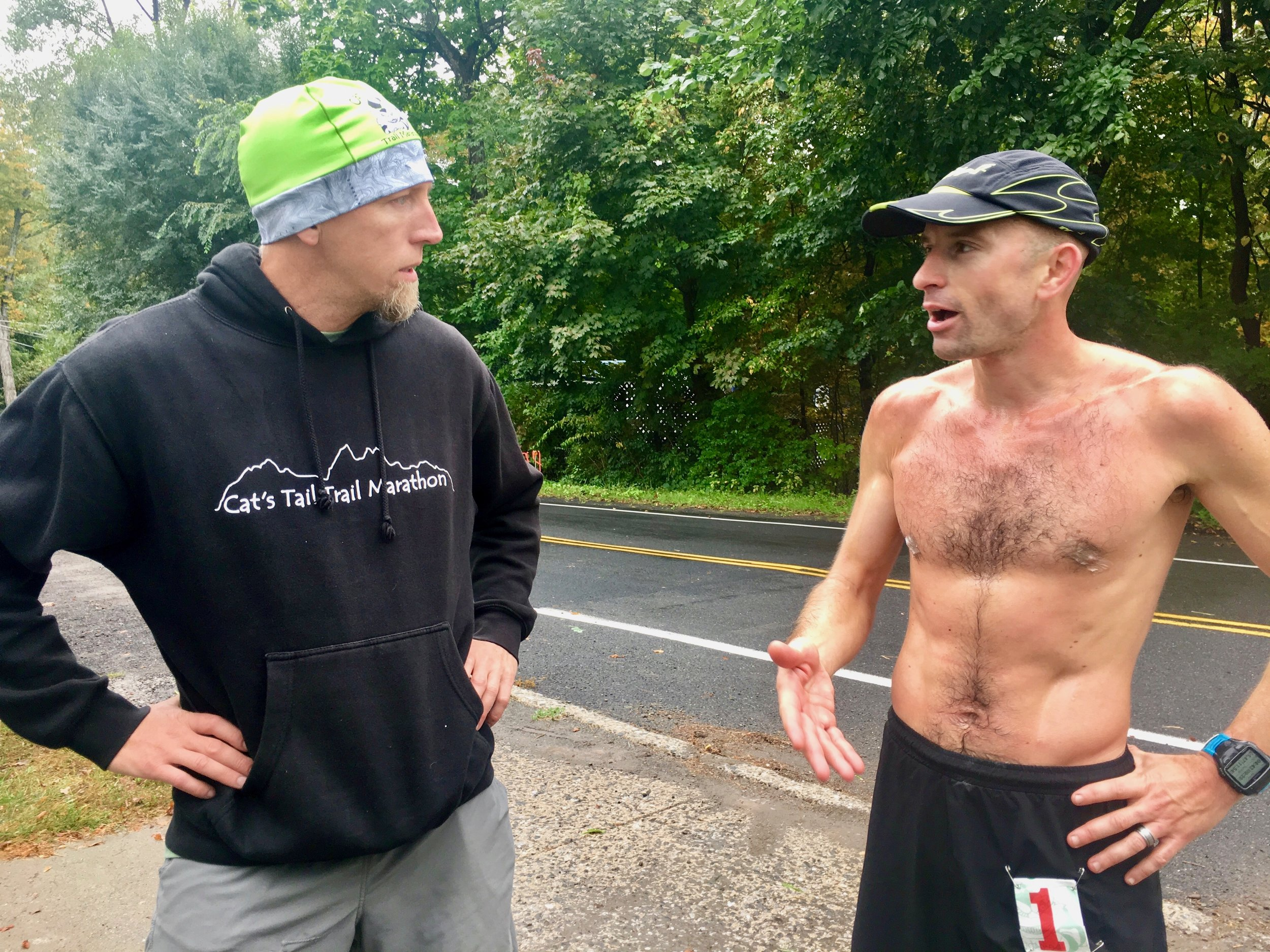 RD Mike Siudy showing concern as I was explaining to him what happened out there. Photo: Elizabeth Azze