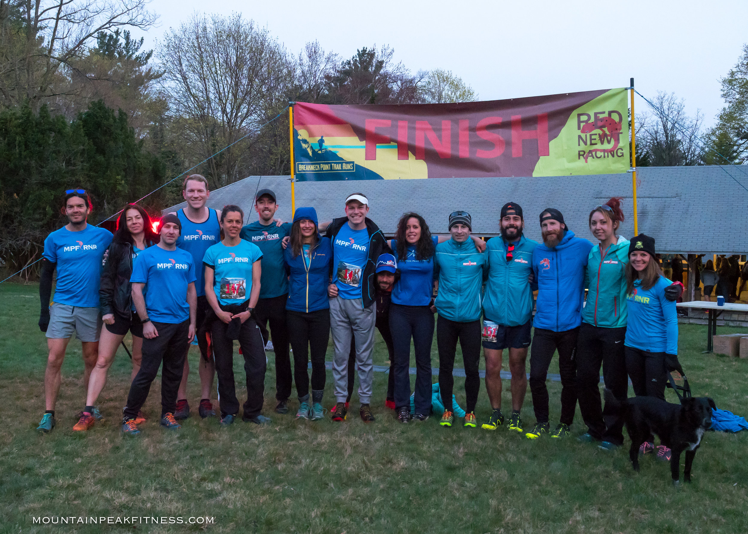 The annual MPF RNR team picture!