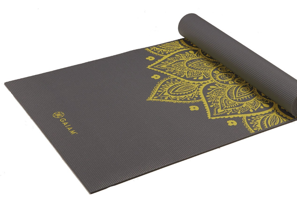 Gaiam Yoga Mat - 6mm thickness, 68