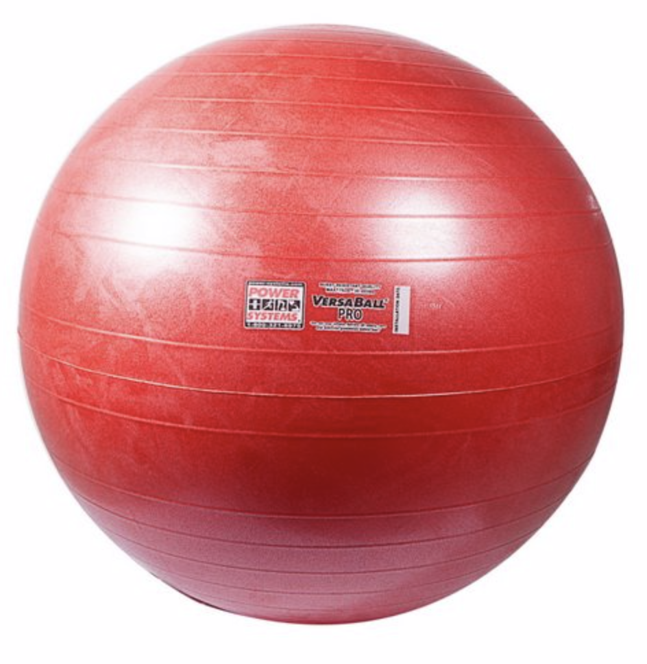 Stability Ball 55 & 65cm - You will use these for many of our core exercises that we prescribe, as well as balance work, mobility and strength movements.Versa Ball ProVersa Ball