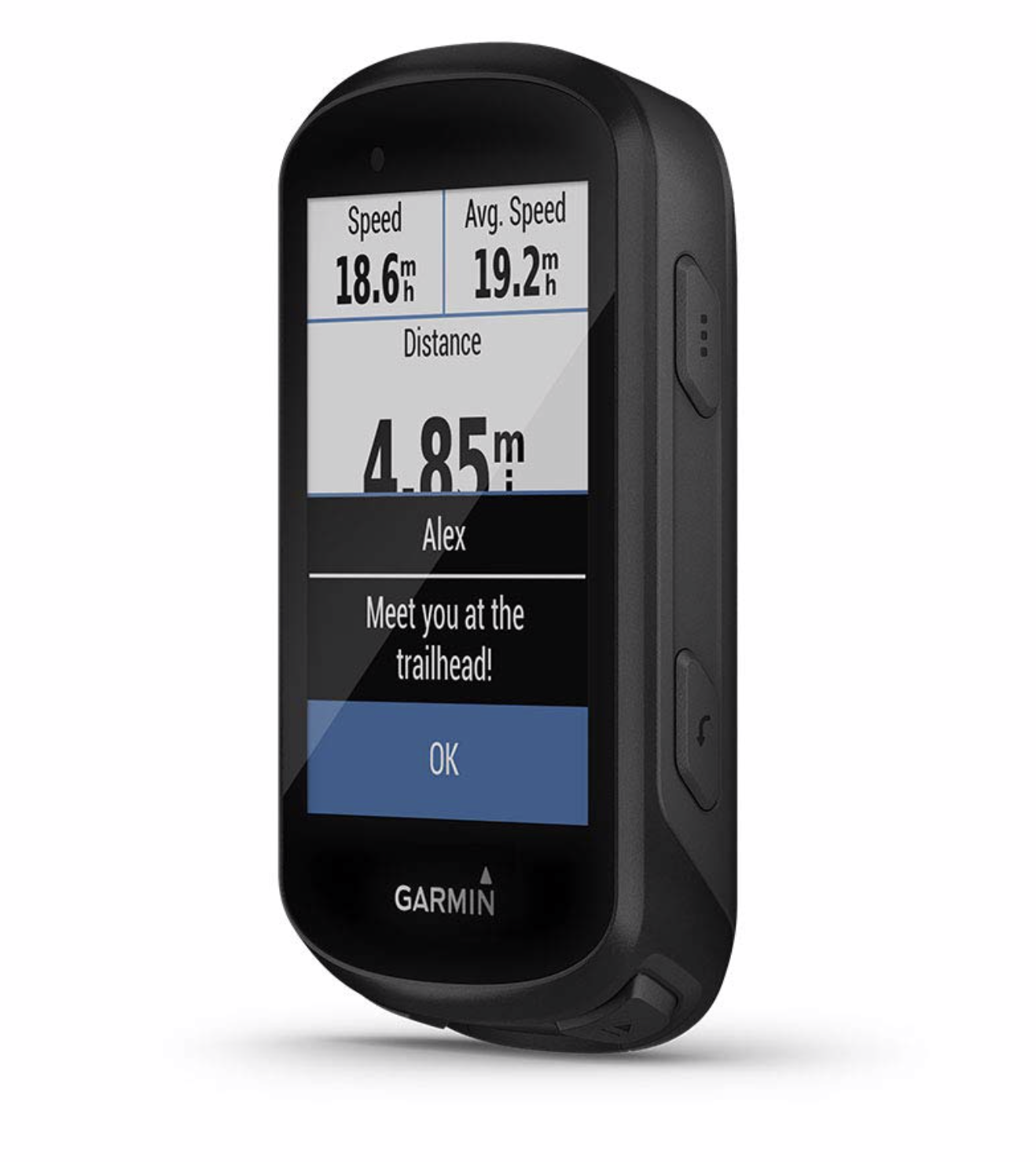 Garmin Edge 530 GPS Cycling Computer  - A great little cycling computer that has pretty much all of the features you need, including wireless upload, 20+ hour battery life, mapping, guiding features, etc.