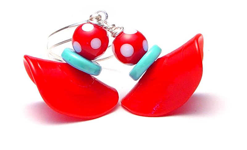 Dance-a-thon Earrings - $50 - JillSymons.com