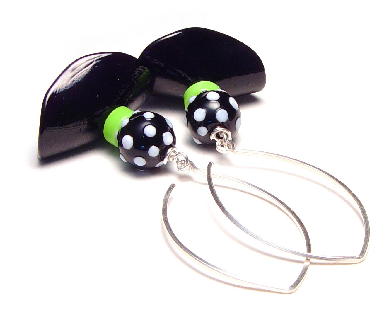 Swingy Skirt Earrings - $50 - JillSymons.com