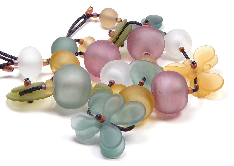 JillSymons.com Lampwork   Fall Jubilee Necklace - $375