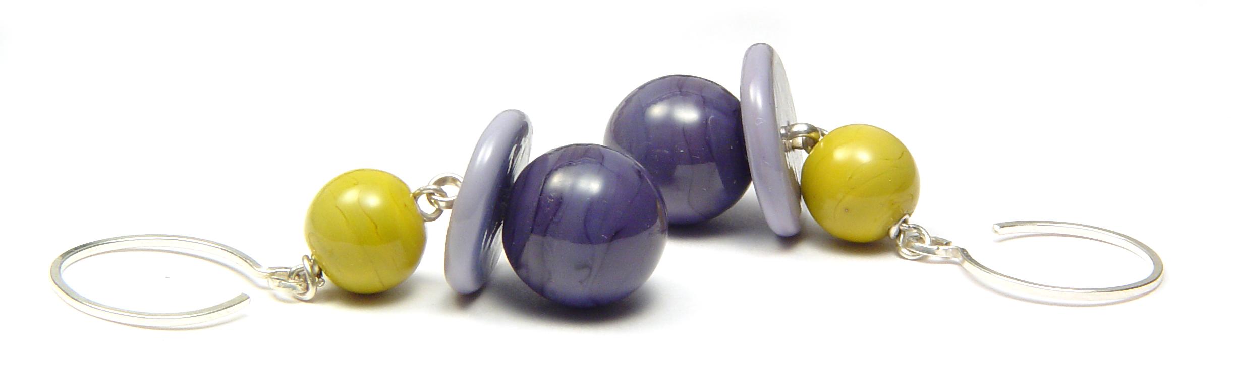 JillSympons.com Lampwork You Know You Do Earrings - $50