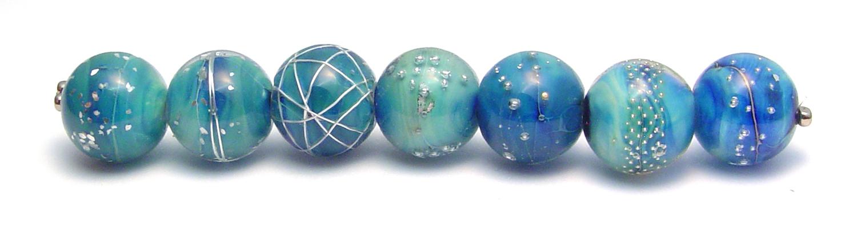 R4 Beauties - $65 JillSymons.com Lampwork