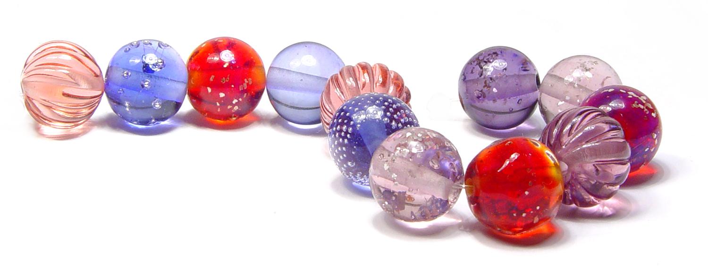 House Party Beads - $75 JillSymons.com Lampwork