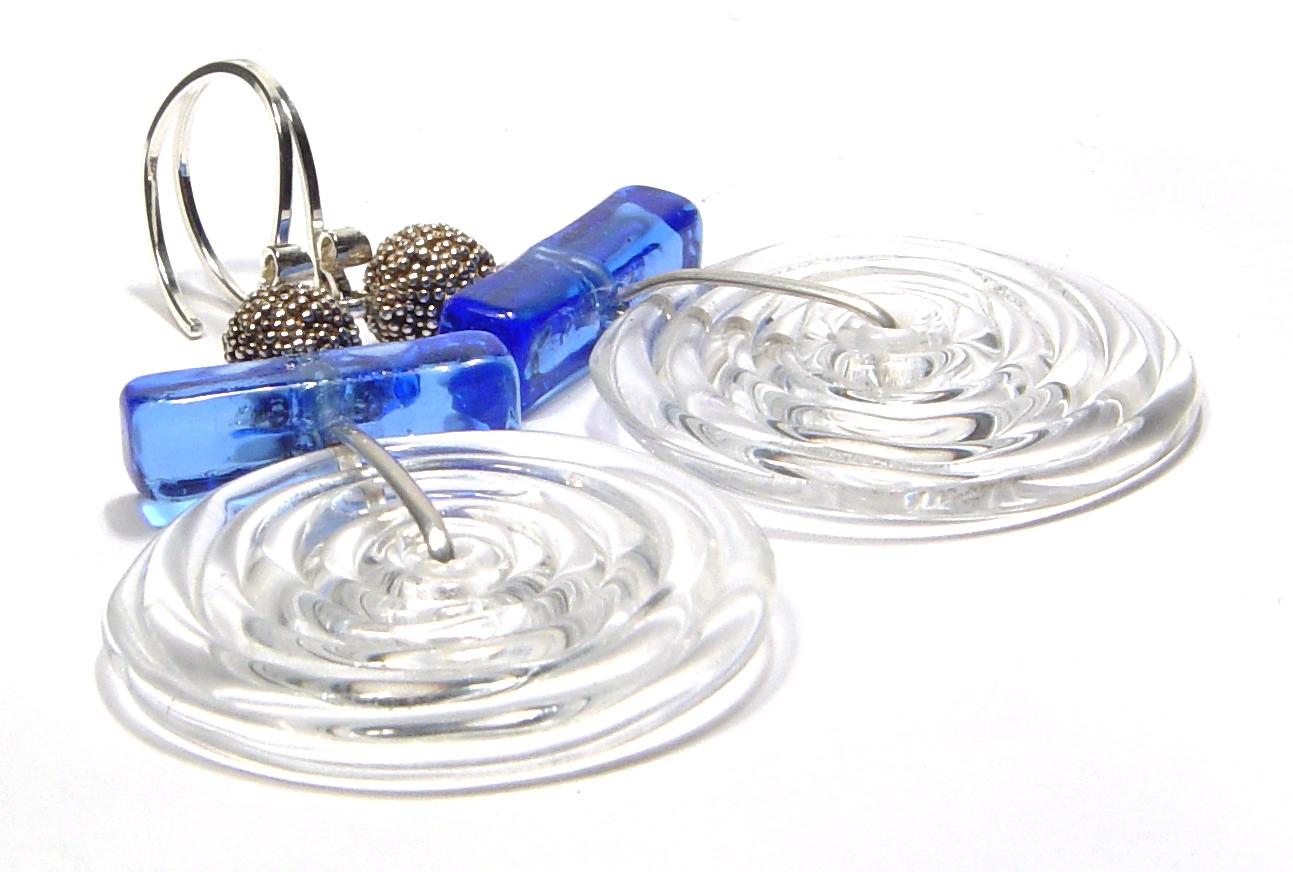 Boro Swirled Blue - $58 JillSymons.com