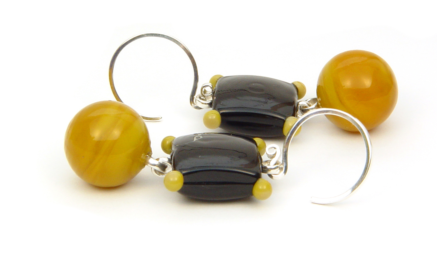 Honey Drops - $50 JillSymons.com Lampwork