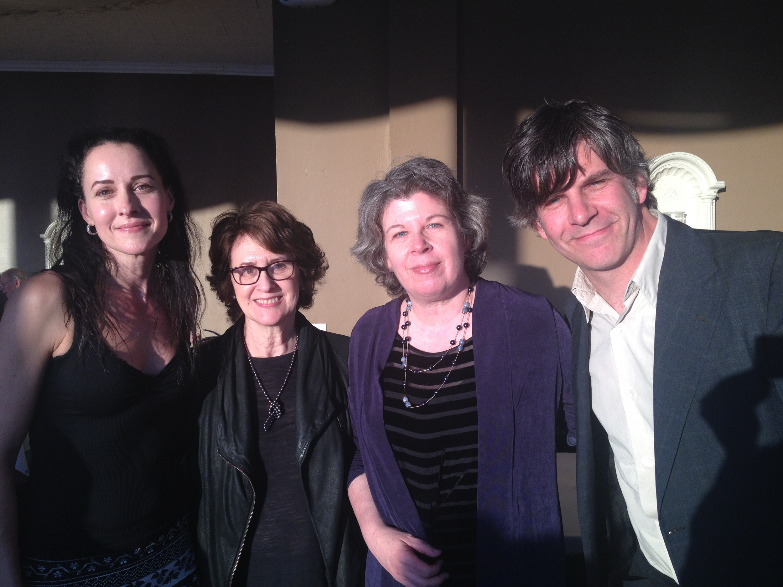 On May 6th,Jason had the privilege of reading   with  Delia Ephron  and  Meg Wolitzer as part of  Spoken Interludes , a literary salon   lovingly curated by  DeLauné Michel   in Westchester County, NY. The food was great and the questions from the audience were even better, and all of it included a beautiful view overlooking the Hudson. Jason is definitely starting to get spoiled by events like this.