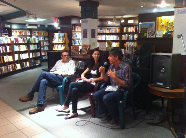 • On June 19th,Jason was thrilled to be invited back to his home town for the 2014 Ann Arbor Book Festival. His leg of the book crawl took place at  Nicola's Books , where he read along with  Doug Trevor  and  Bethany Neal .
