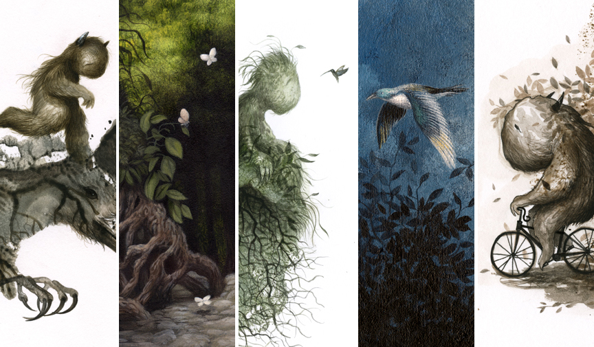 I will have new prints and original art available tomorrow (7/30) at noon in my shop...   danmay.bigcartel.com