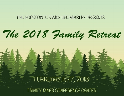 Family Life Retreat Weekend — HopePointe Anglican Church