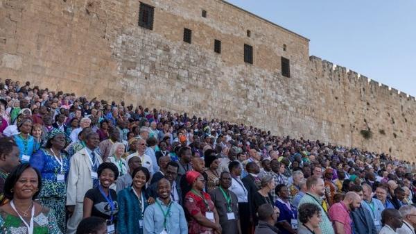 Attendees of GAFCON 2018 together in Jerusalem